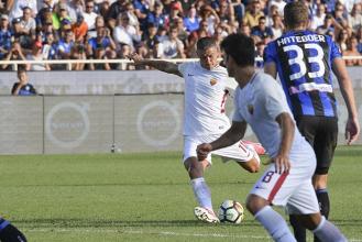 La Roma vince a Bergamo senza entusiasmare: 0-1