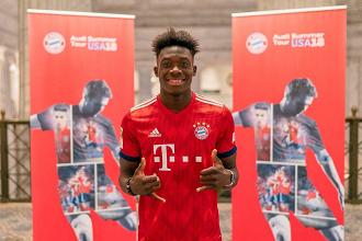 Bayern Munich sign Whitecaps youngster Alphonso Davies