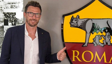 Di Francesco commenta il rinnovo di contratto con la Roma fino al 2020