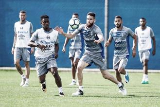 Grêmio segue com titulares ausentes para enfrentar Flamengo e Renato pode repetir time