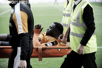 Wolves rocked by Dicko injury