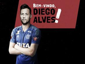 Fim do suspense: Flamengo anuncia a contratação do goleiro Diego Alves