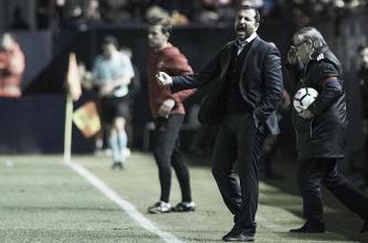 """Diego Martínez: """"Estoy muy contento por los jugadores y la afición"""""""