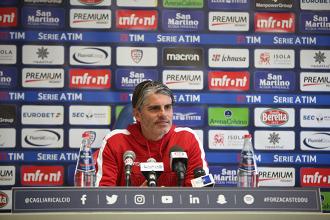 """Cagliari, senti Lopez: """"Oggi risultato importante, è stato importante l'apporto dei tifosi"""""""