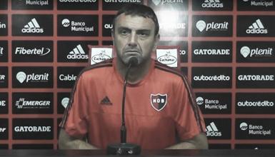 """Osella: """"No me imagino una presión alta de Rafaela"""""""