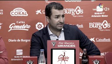 """Diego Martínez: """"Lo que hemos logrado tiene mucho mérito"""""""