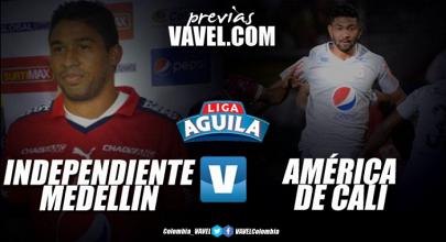 Previa Medellín vs. América: clásico de 'rojos' en busca de la consolidación
