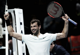"""Grigor Dimitrov: """"Este resultado es una maravillosa recompensa"""""""