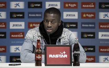 """Pape Diop: """"Nos iría muy bien llegar lejos en la Copa"""""""