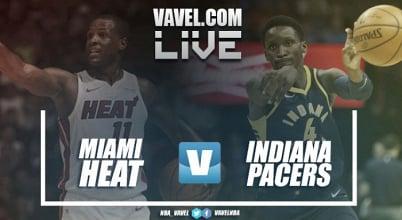 Resumen Miami Heat vs Indiana Pacers en vivo y en directo online en NBA 2017 (95-120)