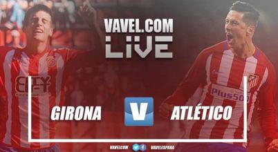 Resumen del Girona vs Atlético de Madrid (2-2)