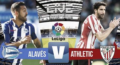 Resultado Alavés vs Athletic Club de Bilbao online en La Liga 2017 (1-0)