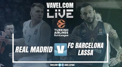 Resumen Real Madrid vs Barcelona Lassa en Euroliga 2017 (87-75)