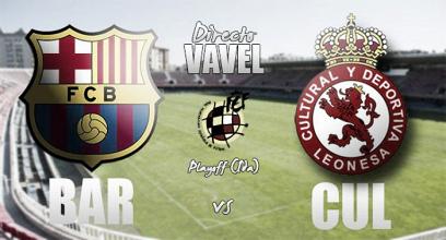 Resumen FC Barcelona B vs Cultural Leonesa en Segunda División B 2017 (0-2)