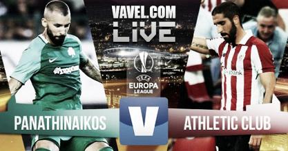 Resultado Panathinaikos vs Athletic Club en UEFA Europa League 2017 (2-3)