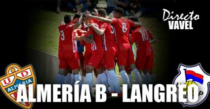 Resultado Almería B 1-1 Langreo en playoffs de ascenso a Segunda B 2017