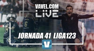 Marcadores de Segunda División jornada 41 en vivo y en directo online