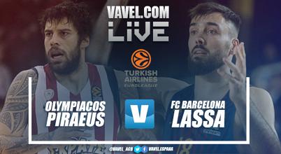 Resumen Olympiacos Piraeus vs Barcelona Lassa en Euroliga 2018 (63-90)