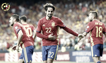 España - Italia: puntuaciones España, fase de grupos clasificación Mundial de Rusia 2018