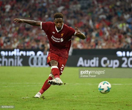 "Divock Origi feeling ""perfect"" after return from injury"
