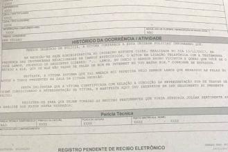 Bruno Vicintin registra boletim de ocorrência sobre ameaça de morte de Itair Machado