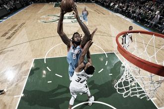 DeAndre Jordan, 25 punti e 22 rimbalzi a Milwaukee. Fonte: NBA/Twitter