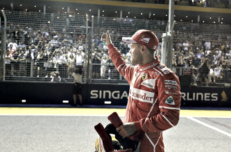 """La felicità di Vettel: """"Pole fantastica, esploso di gioia dopo il traguardo!"""""""