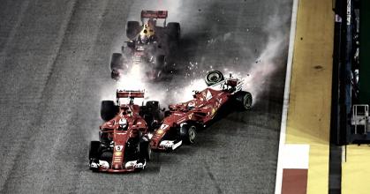 """Villeneuve a Vettel: """"Si luchas por el campeonato, no puedes arriesgar de esa forma"""""""