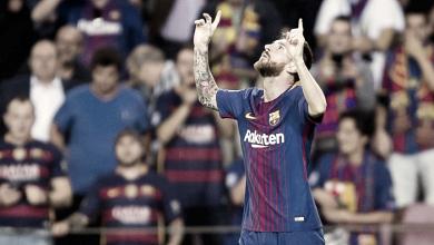 Messi, en una noche de estrellas