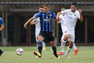 Pasalic in azione contro la Virtus Bergamo | Twitter Atalanta