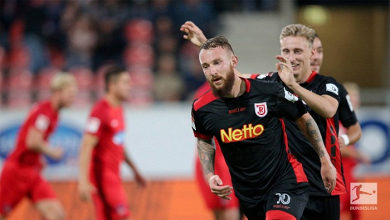 1. FC Heidenheim 1-3 SSV Jahn Regensburg: Mees andGrüttner secure win in dramatic finish