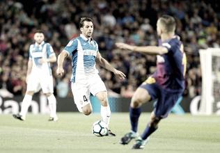 Un Espanyol sin suerte cae en el Camp Nou