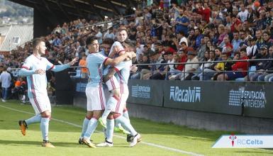 El Celta B se lleva el derbi de Vigo