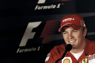 Räikkönen garante estar feliz na Ferrari