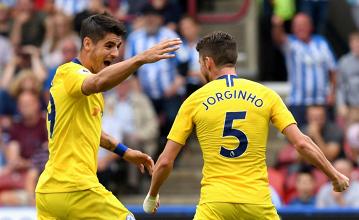 Premier League, buon esordio per Sarri e il Chelsea: 3-0 all'Huddersfield