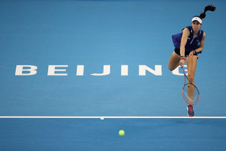 WTA Pechino - Si ritira la Muguruza, McHale batte Stephens