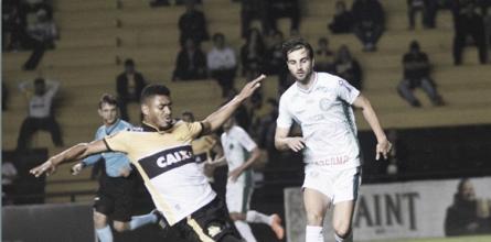 Mazola Júnior admite falta de competência do Criciúma em empate contra Guarani