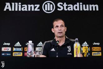 Juventus - Le parole di mister Allegri