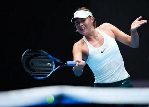 WTA Tianjin - Sharapova ok, sorriso Errani
