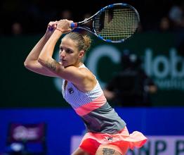 WTA Finals - La Pliskova depone le armi, tutto facile per la Ostapenko