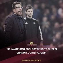"""Eusebio Di Francesco: """"Dzeko ha sido criticado con demasiada frecuencia"""""""