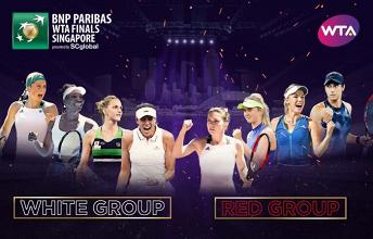 WTA Finals - Il programma della prima giornata
