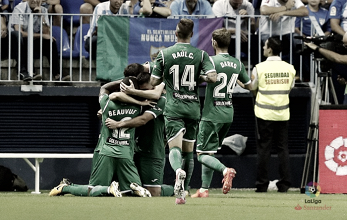 El Málaga, a la deriva, tampoco puede con la revelación de La Liga