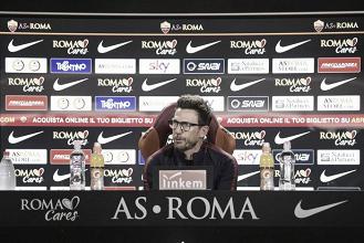 """Roma, Di Francesco vuole continuità: """"Domani partita difficilissima"""""""