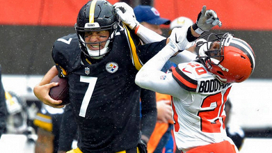 All square between the Cleveland Browns and the Pittsburgh Steelers