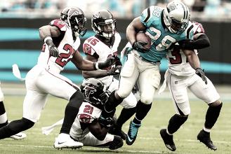 Atlanta fue superado por Panthers en Duelo Divisional