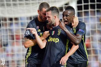 Champions League - La Juventus vince a Valencia con due rigori. Espulso Ronaldo!