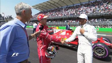 """F1, Gp del Messico - Hamilton non si abbatte: """"C'è tanta strada per la curva 1, non sarà difficile""""Fonte: Twitter F1"""