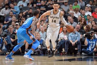 NBA - Gli Spurs battono in rimonta i Thunder