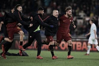 """Roma - La gioia di Di Francesco: """"Grande soddisfazione, dobbiamo continuare a lavorare"""""""